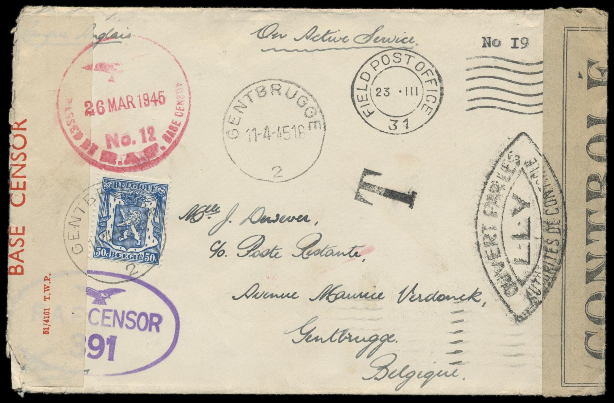 Lot 11 - europa belgien -  Peter Harlos Auctions 42. Harlos Auktion