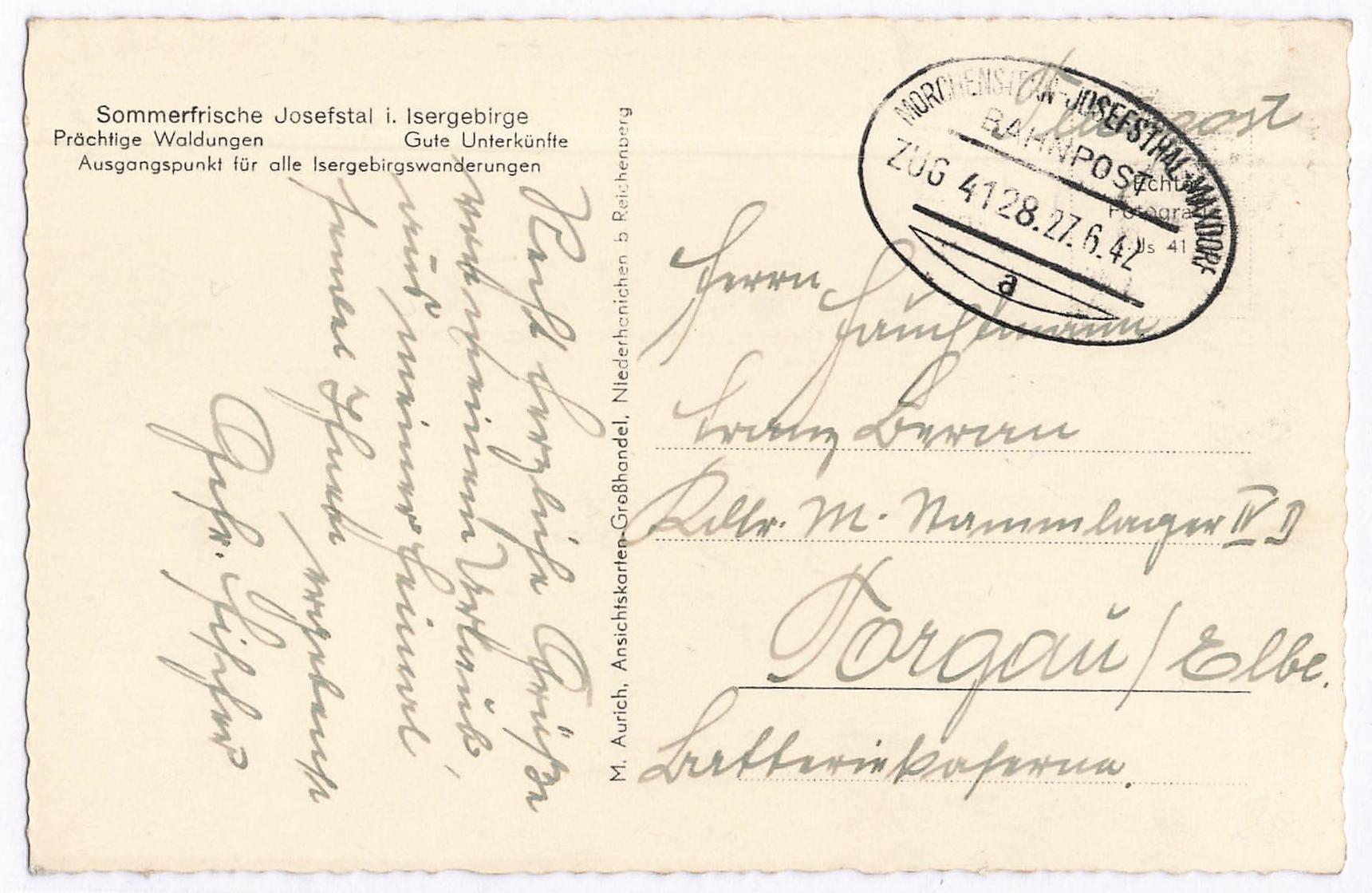 Lot 2589 - Main catalogue sudetenland -  Peter Harlos Auctions 42. Harlos Auktion