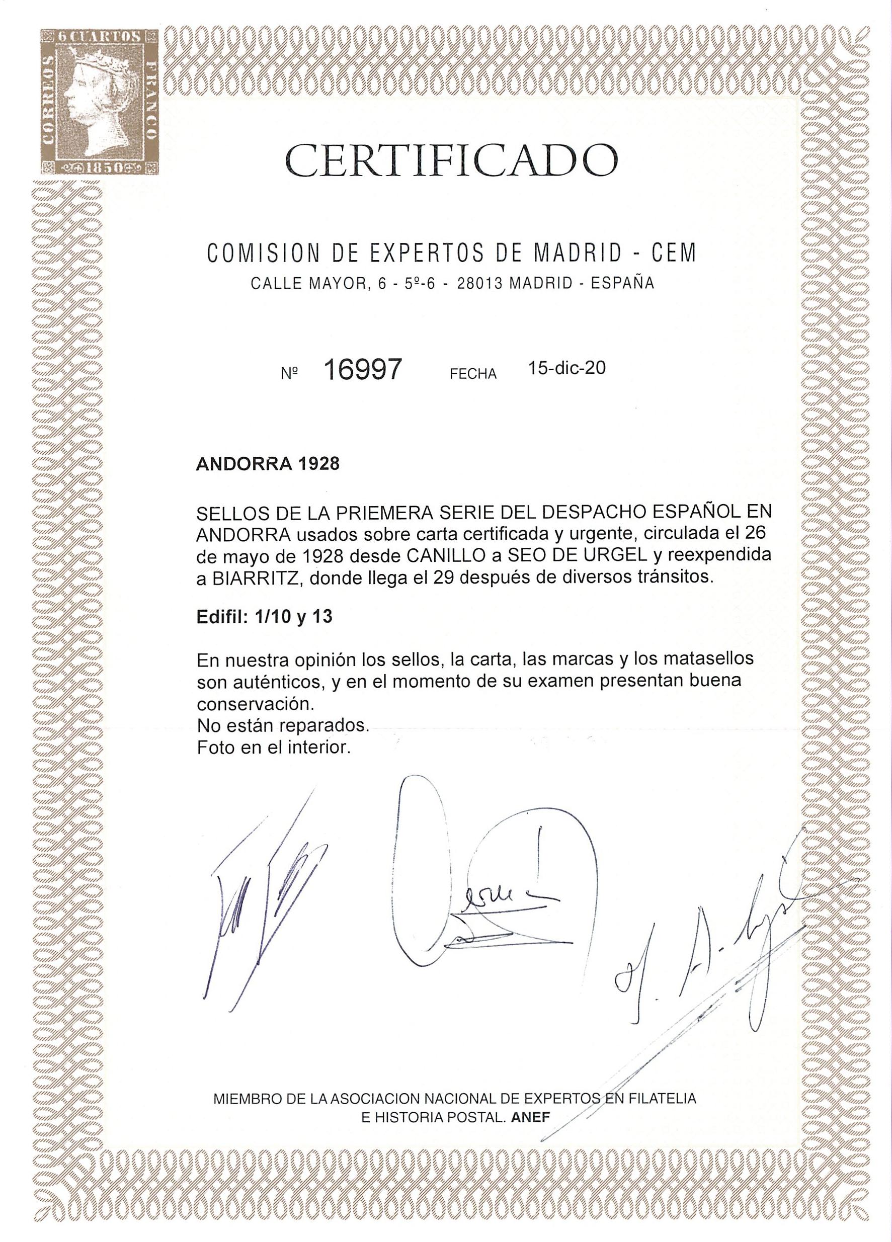 Lot 4 - europa Andorra -  Peter Harlos Auctions 42. Harlos Auktion
