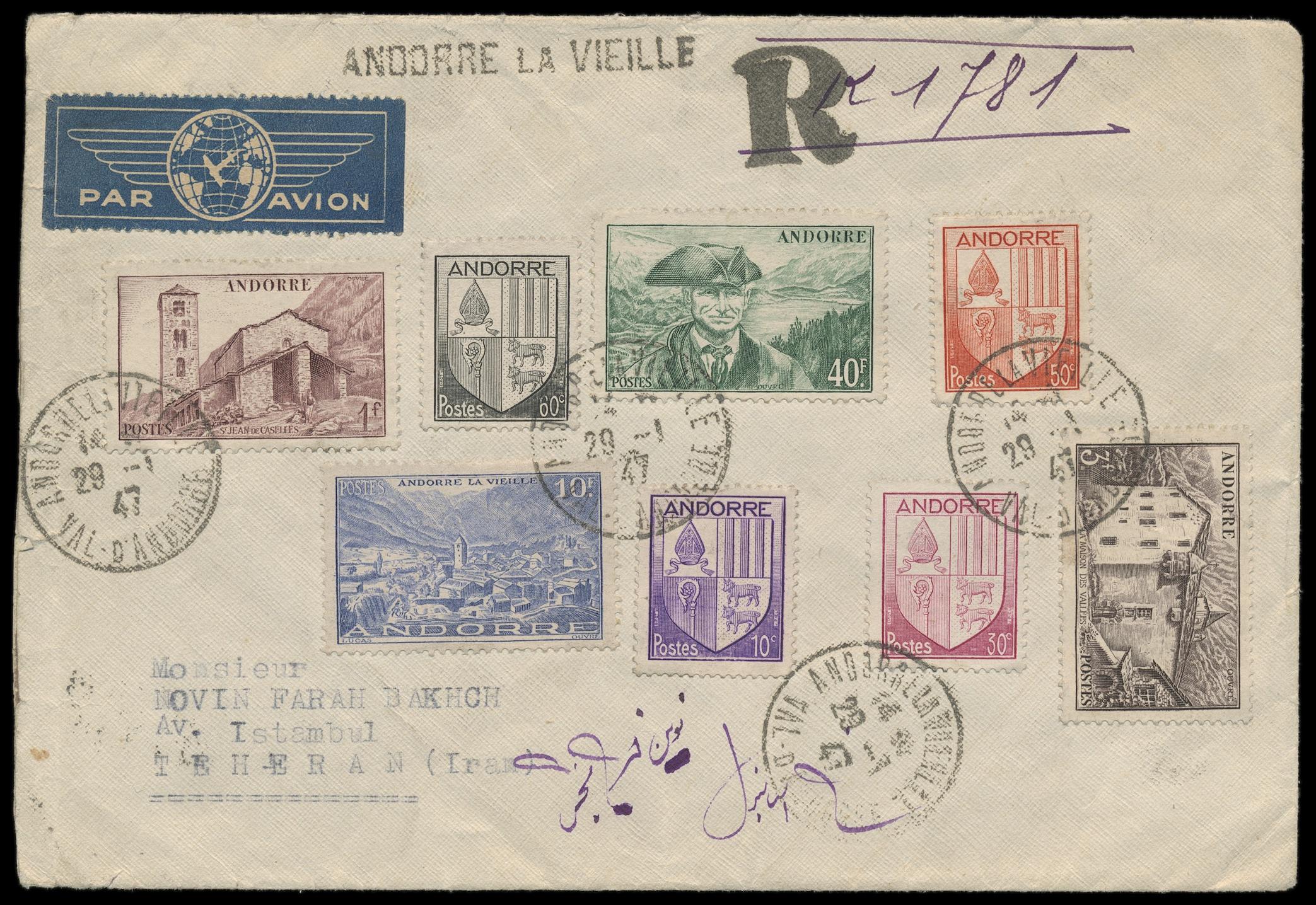 Lot 3 - europa Andorra -  Peter Harlos Auctions 42. Harlos Auktion