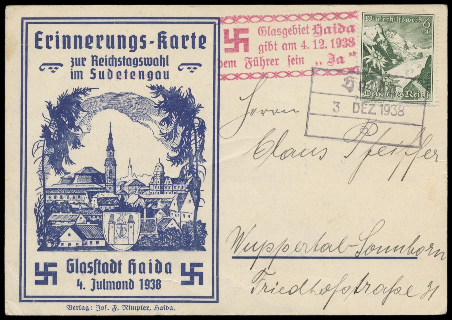 Lot 2583 - Main catalogue sudetenland -  Peter Harlos Auctions 42. Harlos Auktion